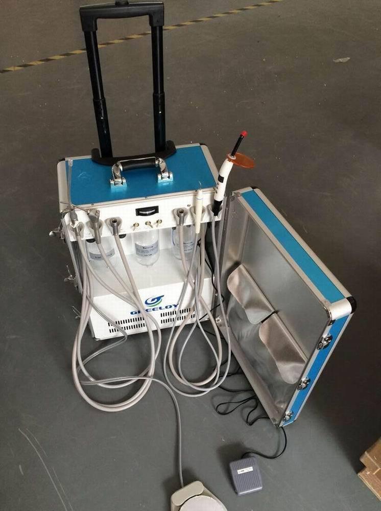 Greeloy GU-P206 Portable Mobile Air Compressor Unit Alll IN One Set 4H BoNew
