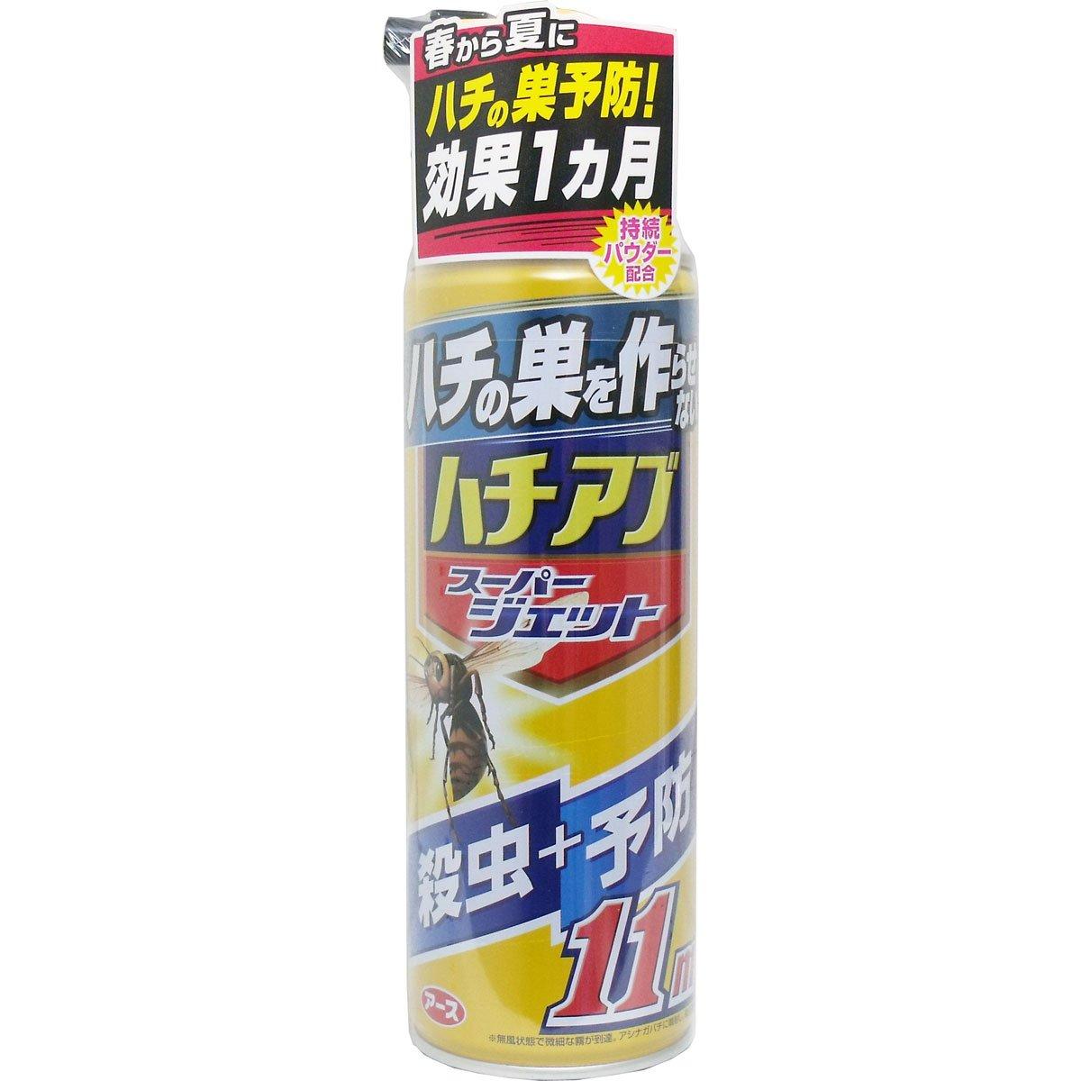 【アース製薬】ハチの巣を作らせない ハチアブ スーパージェット 455mL ×20個セット B00XTAQSJA