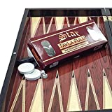 "The 19'' Turkish ""Cafe"" Backgammon Board Game Set"