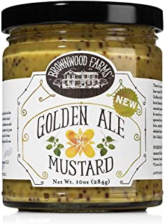 product image for Brownwood Farms Golden Ale Mustard (10 ounce)