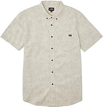 Billabong Sundays - Camisa de manga corta con estampado floral y pequeña escala para hombre: Amazon.es: Ropa y accesorios