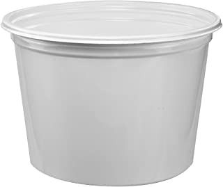 product image for SOLO 3T1U Double Wrapped Paper Bucket, Unwaxed, White, 53 oz, 50/Pack
