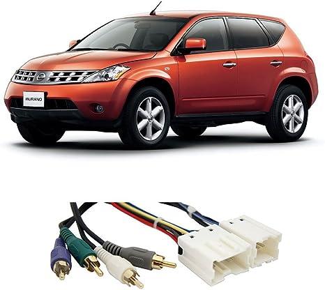 Fits Nissan Murano 2003-2007 Multi DIN Stereo Harness Radio Install Dash Kit