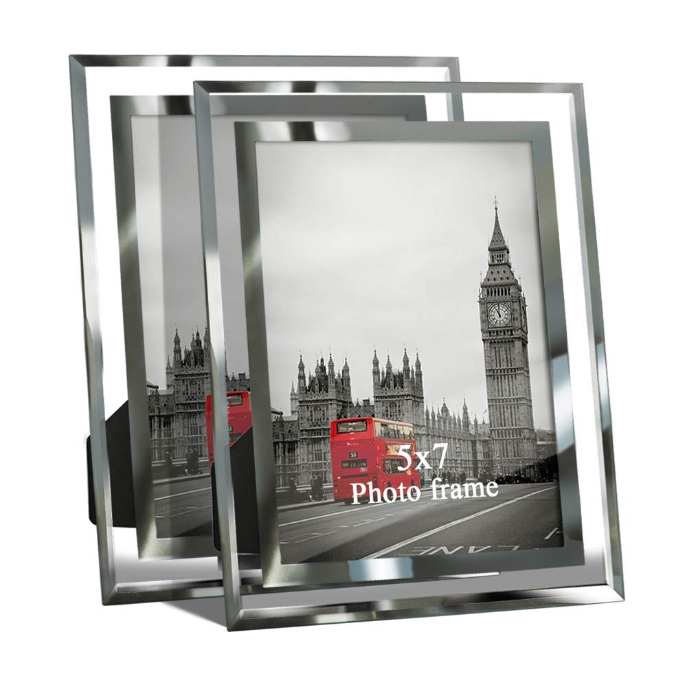 Giftgarden 5 by 7 -Inch in Picture Frame Friends Gifts for 5x7 Photo Display, Pack of 2 by Giftgarden