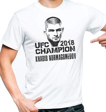 03ca97ad3 Khabib Champion Shirt - Khabib Shirt - Khabib Nurmagomedov Shirt - Ultimate  Fighting 2018 Shirt -