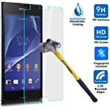 Tempered Glass Screen Protector anti-shock For Sony Xperia Z3