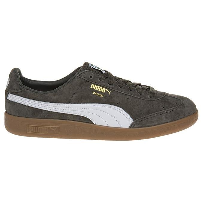 chaussures de sport 6a611 d4469 Puma Madrid Homme Baskets Mode Vert: Amazon.fr: Chaussures ...