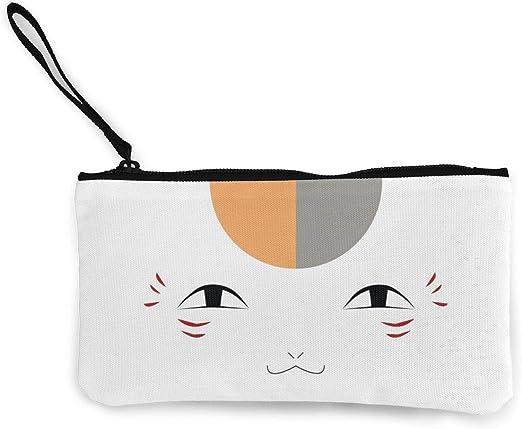 natsume yuujinchou zip purse wallet money card bags wallets anime storage bag