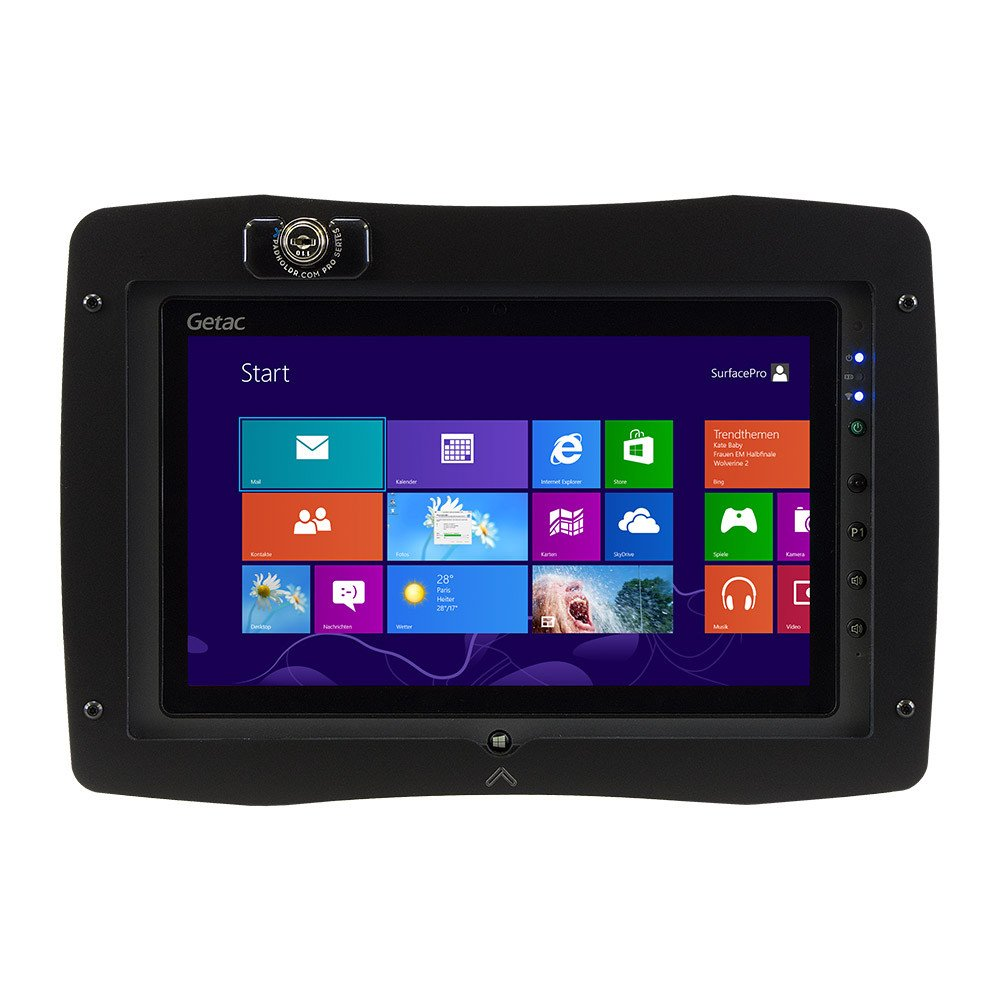 Padholdr Pro Series F110 Holder built specifically for the Getac F110 with lock in front