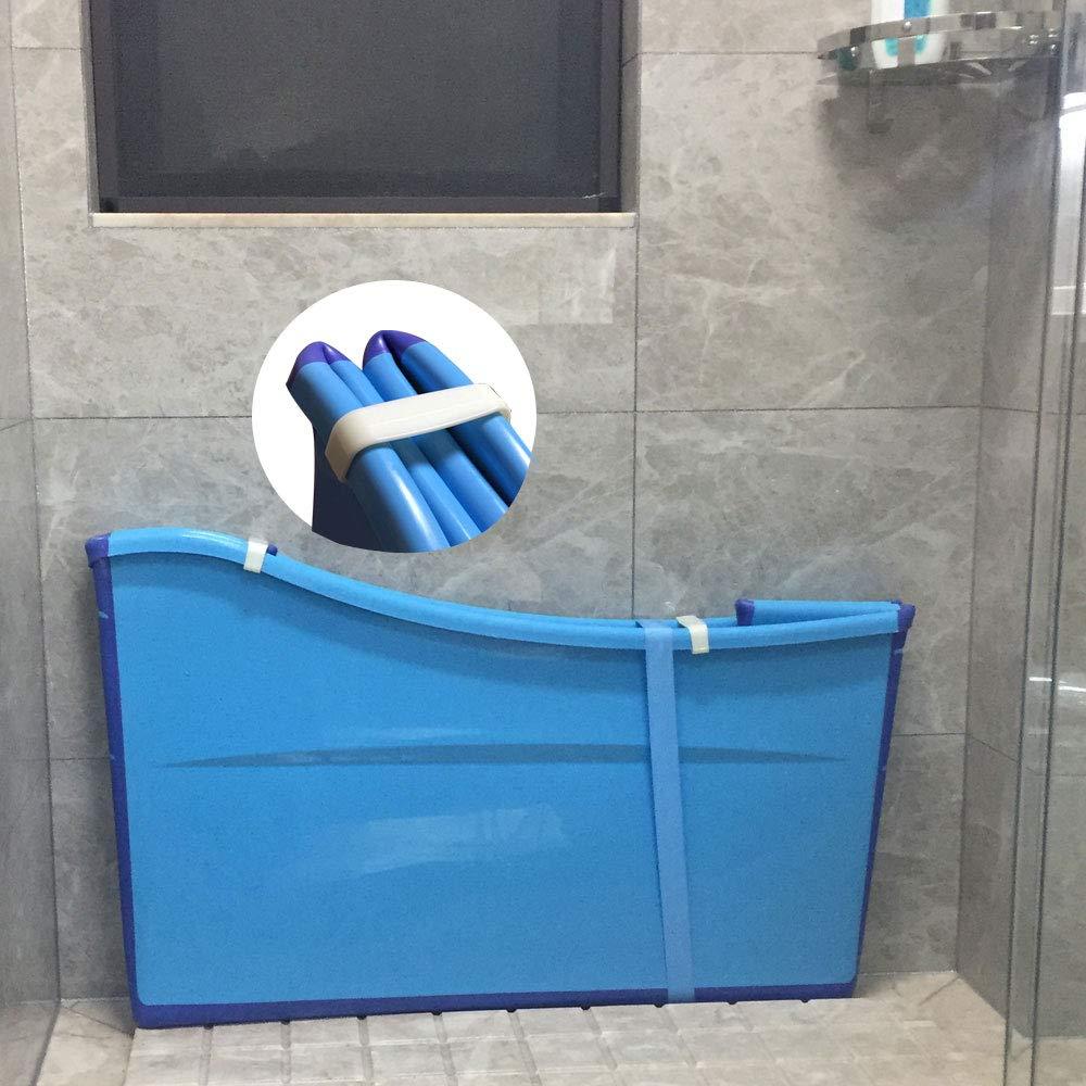 Weylan Tec Large Foldable Bath Tub Bathtub For Adult Children Baby Toddler Blue by Weylan Tec (Image #7)