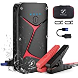 Car Battery Jump Starter,FLYLINKTECH 1000A Peak Current (Up to 5.0 Gas or 3.0 Diesel Engine) 15000mAh High Capacity 12V Porta