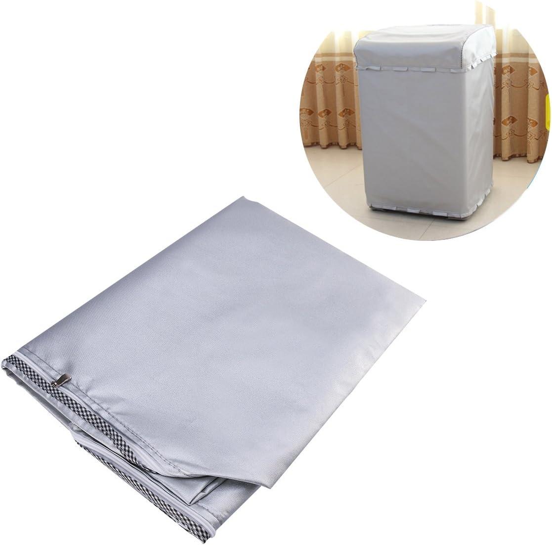LIOOBO Funda para Lavadora Carga Superior Refrigerador Universal Cubierta Superior del Secador y Lavadora Automática Impermeable a Prueba de Polvo 58 * 60 * 92 CM
