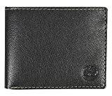 Apparel : Timberland Men's Leather Wallet with Attached Flip Pocket