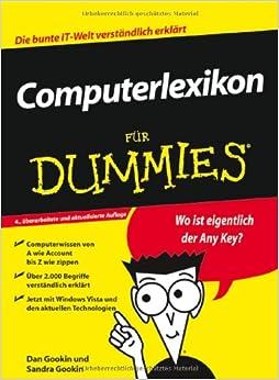 Computerlexikon Fur Dummies (Für Dummies)