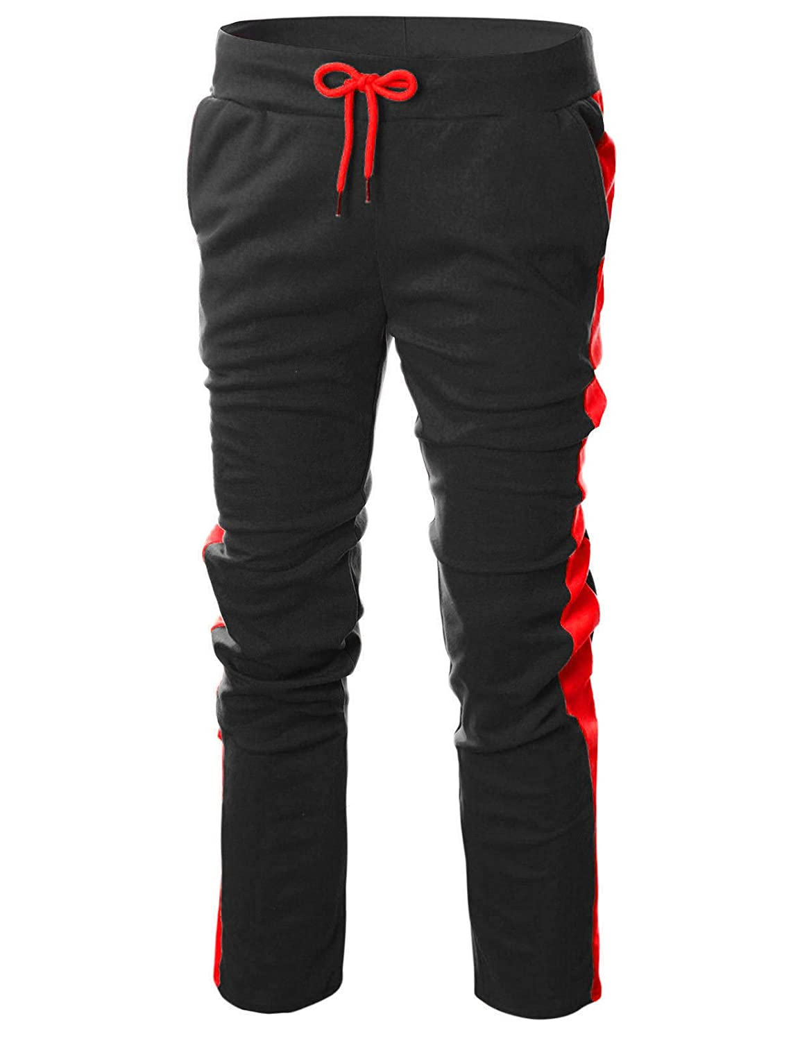 GIVON GIVON PANTS メンズ B07BRT2TMP B07BRT2TMP Dca005 Black/ Red X-Large Red X-Large|Dca005 Black/ Red, SPACE(スペース):89e2e267 --- krianta.com