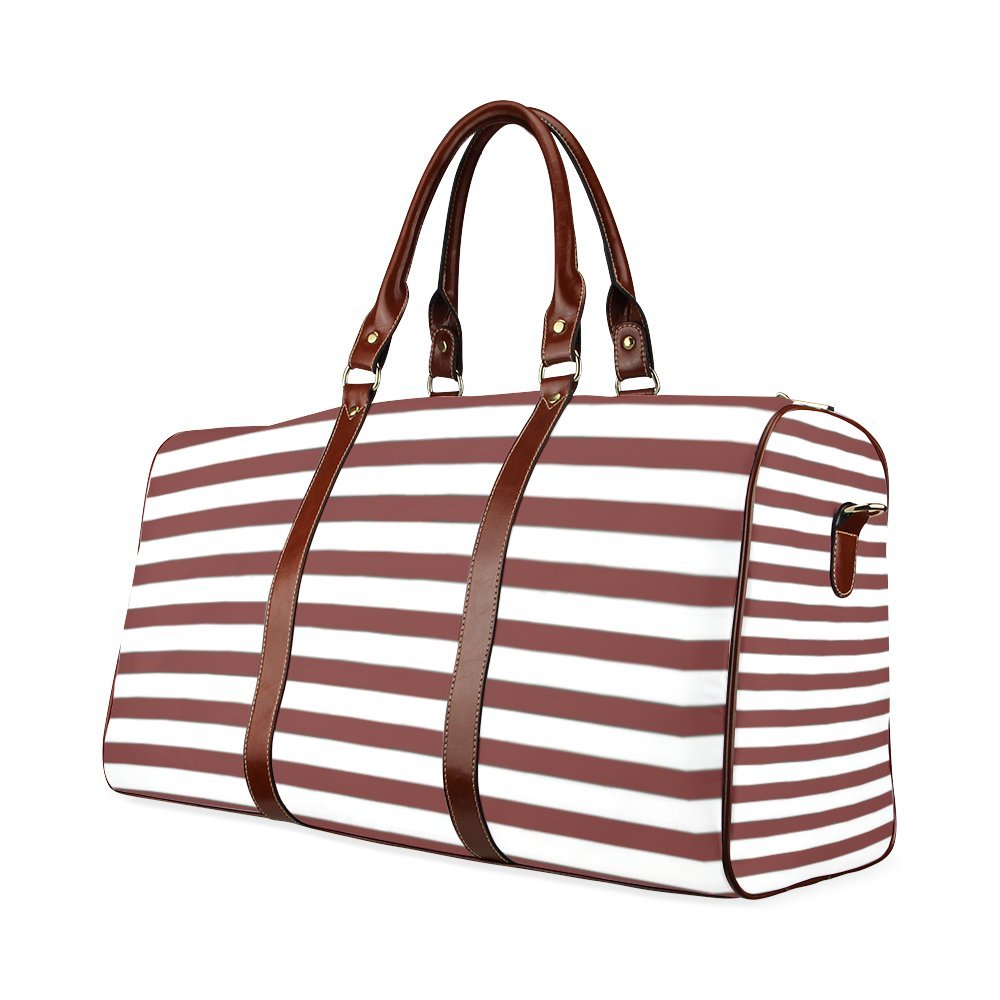 Marsala Custom Waterproof Travel Tote Bag Duffel Bag Crossbody Luggage handbag