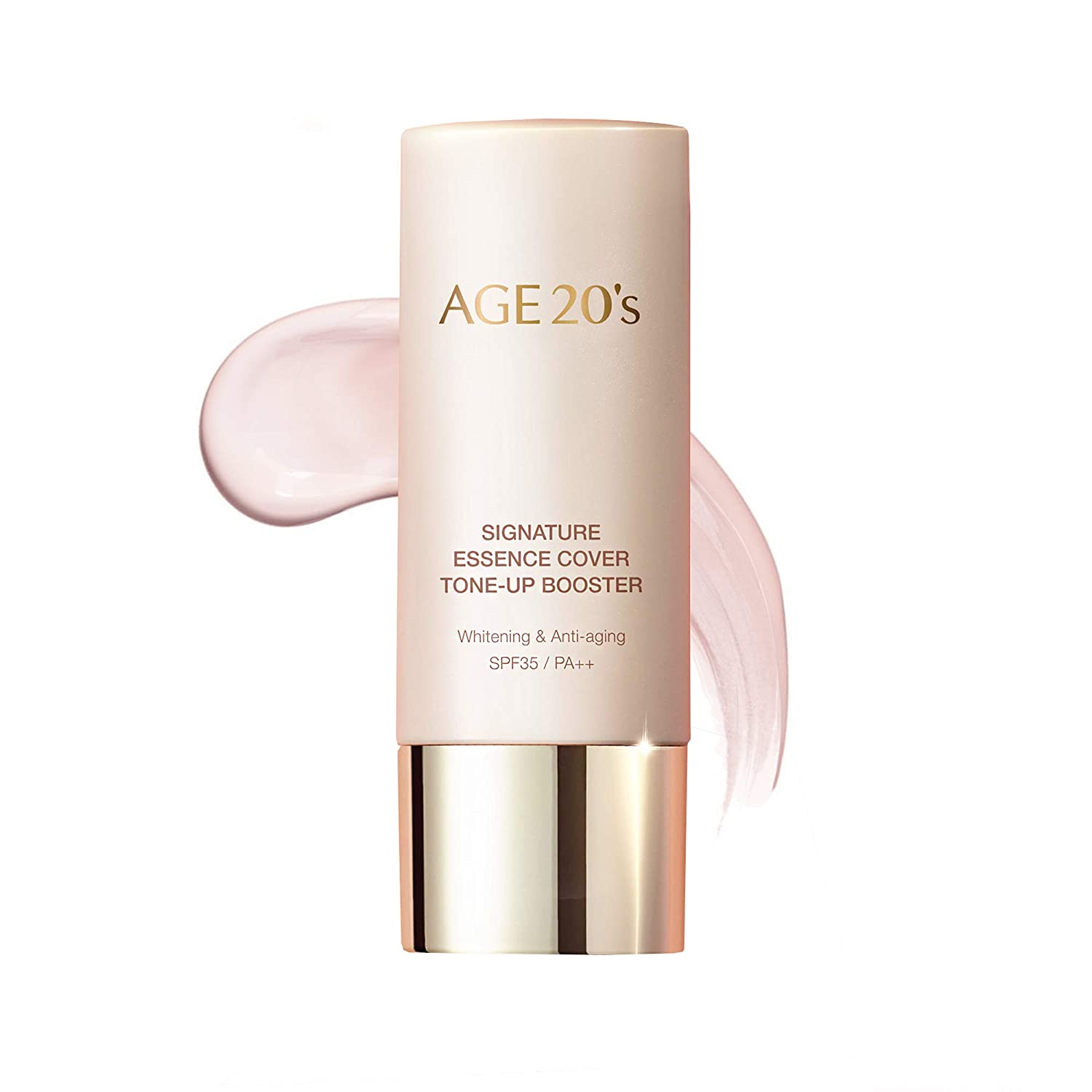 AGE 20's Brightening Tone-up Booster - Make-up Base and Primer with 71% of Hydrating Essence (1.35 fl oz)