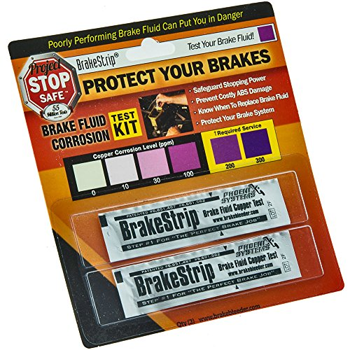 Phoenix Systems (3003-B) Brake Fluid Test Strips, 2 Strips Per Package, Reveals Brake Fluid Condition by Phoenix Systems (Image #2)