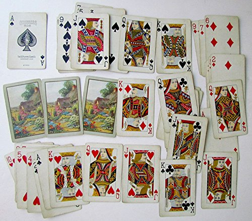 VINTAGE CONGRESS PLAYING CARDS DECK