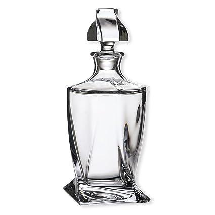 Decantador de cristal, 850 ml para Whisky y licor, botella, jarra, Bohemia