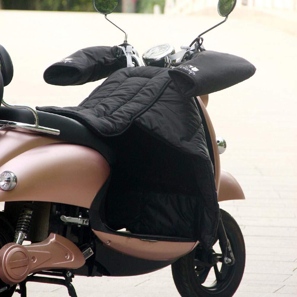 coprigambe per Scooter Grembiule Grembiule in Cotone Protezione Impermeabile per Moto Hete-supply Addensato e Caldo paravento Trapuntato con Guanti