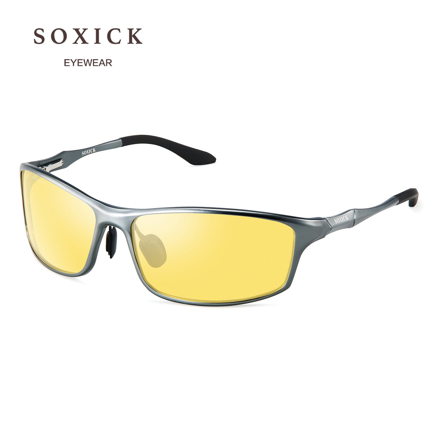 b797225b4236 Soxick Night Driving Polarized Glasses for Men Women Anti Glare Rainy Safe HD  Night Vision HOT Fashion Sunglasses