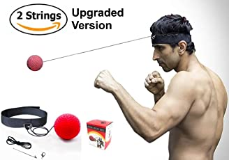 Boxing Training Fight Reflex Ball for Reaction Red Xnature Reflex Boxing Ball