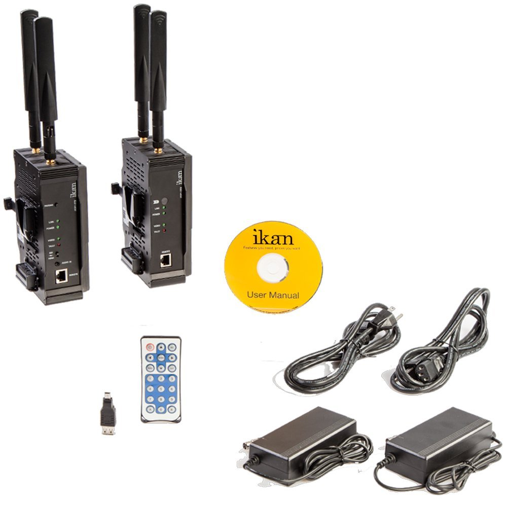Ikan Wireless HD Transmitter and Receiver System (for V Mount) (Certified Refurbished)