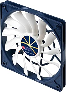 TITAN 12V DC Cooling Fan with Extreme Silent Low Speed Control (120mm)