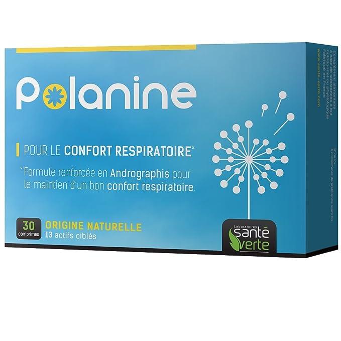 Santé Verte Polanine - 30 Comprimidos: Amazon.es: Salud y cuidado personal