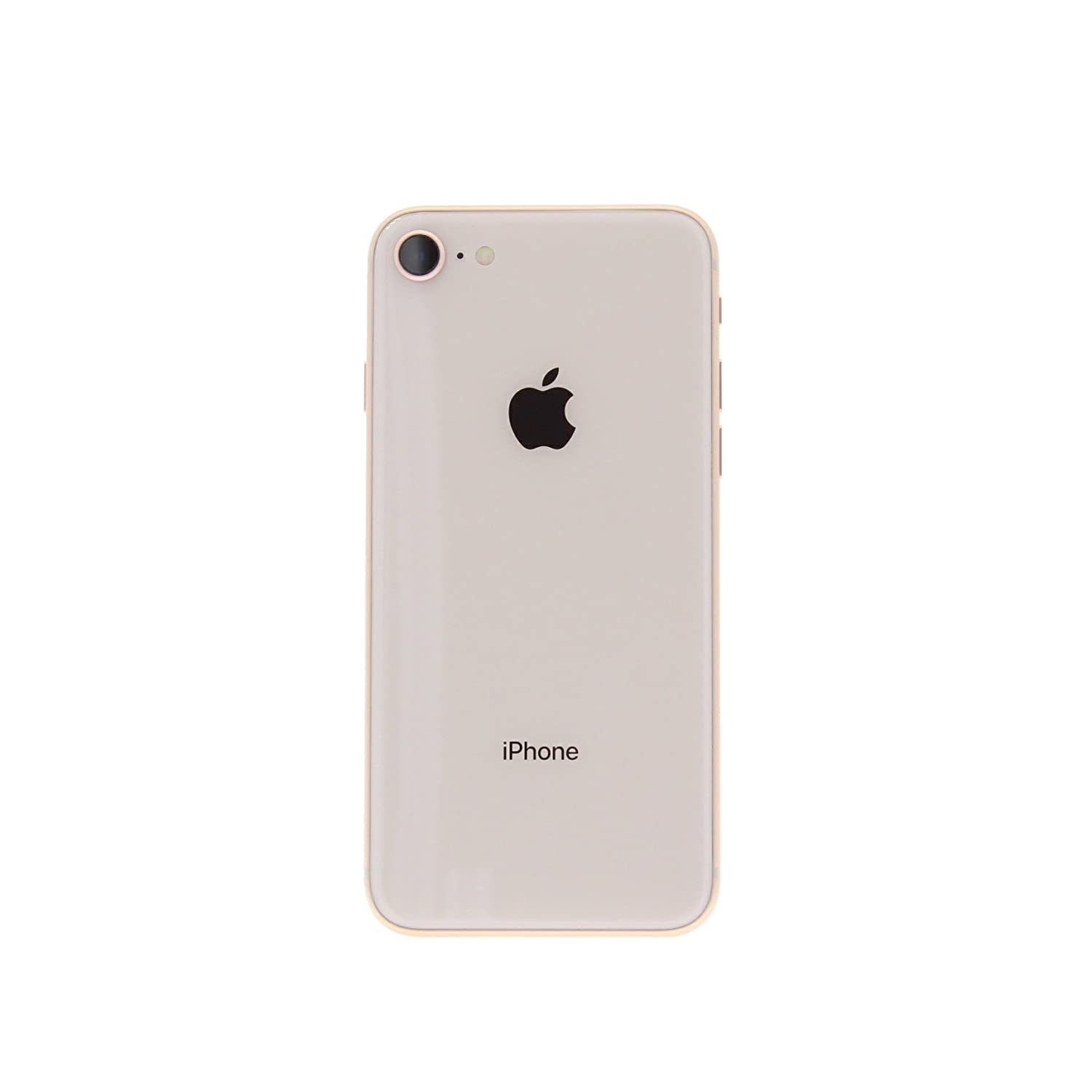 Apple Iphone 8 Gsm Unlocked 64gb Gold Refurbished 6 Refrubish Free Tempered Glass Cell Phones Accessories