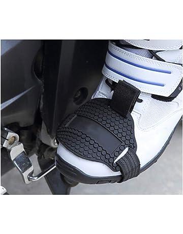 KKmoon Zapatos de Motocicleta Protector Gear Shifter Calzado Accesorios  para Botas Cover Elástica Anti Abrasión Caucho 9c93bccddf272
