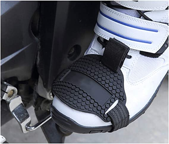 Kkmoon Schutzüberzug Für Motorrad Schuhe Schützt Vor Schäden Durch Betätigen Des Schalthebels Auto