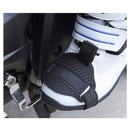 KKmoon Scarpe da Passeggio per Scarpe con Motocicletta Stivali di Corsa del Motociclista Protezione Danneggiata della Protezione Protettiva Rimovibile