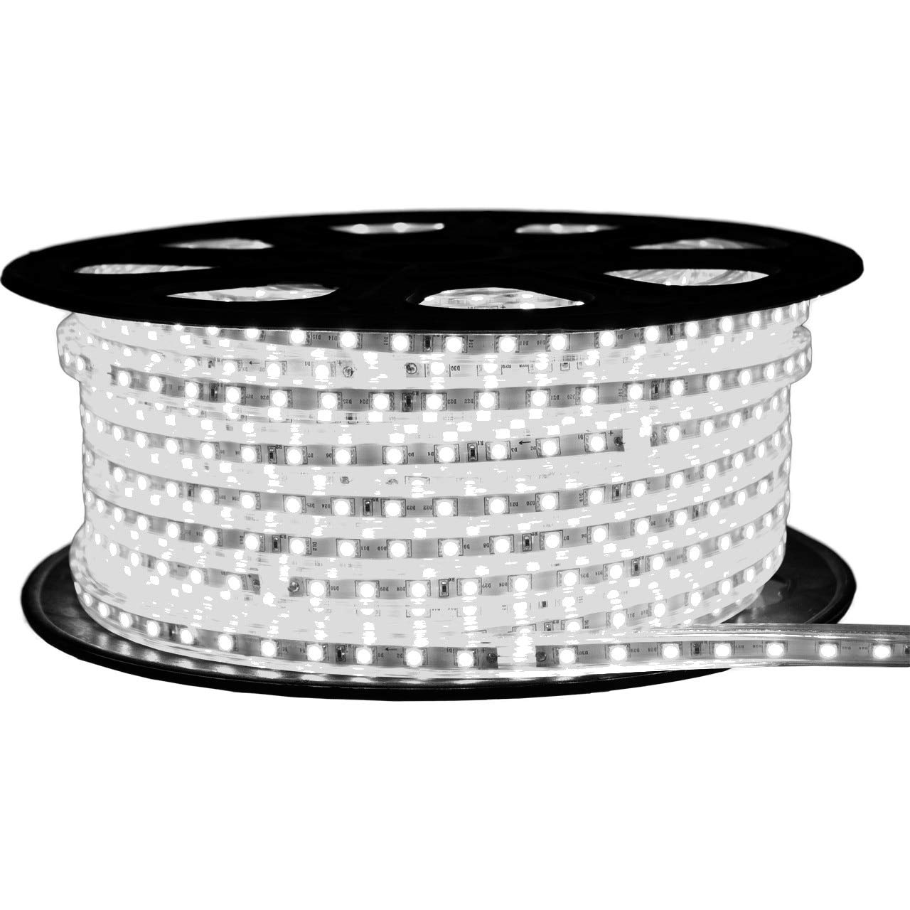 Cool White LED Strip Light - 120 Volt - Standard Output (SMD 3528) - 148 Feet