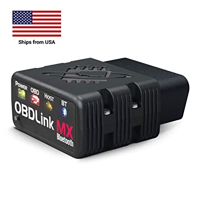 OBDLink MX Bluetooth OBD-II Automotive Scan Tool for Android and Windows: Automotive
