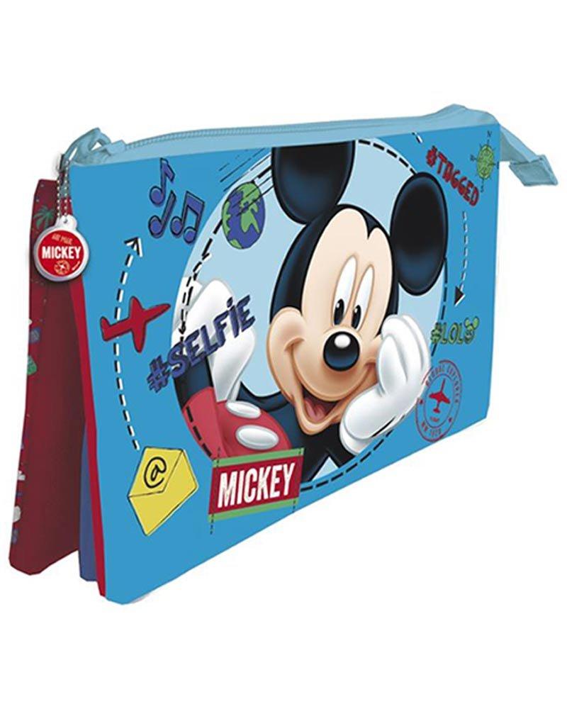 Disney/ Topolino /Astuccio a 3/Scomparti 12/x 22/CMS ast5477