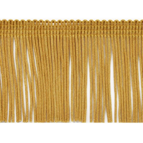 Expo International 20-Yard Chainette Fringe Trim, 2-Inch, Gold