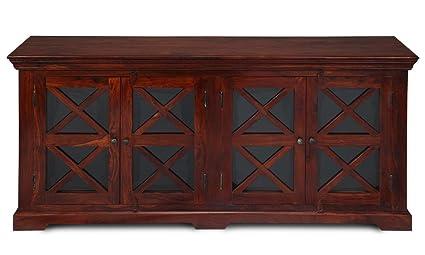The Attic Wood Virginia Sideboard (Dark Honey)