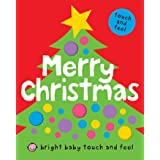 Bright Baby Touch & Feel Merry Christmas