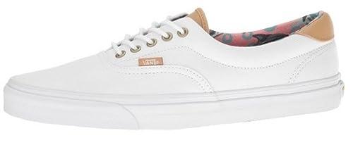 503fef1582 Vans Unisex Era 59 (C L) Dolphins True White Sneakers - 4 UK India ...