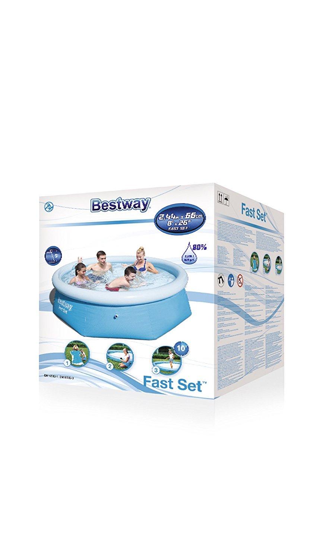 Bestway 57008 Fast Set Pool 244 x 66 cm