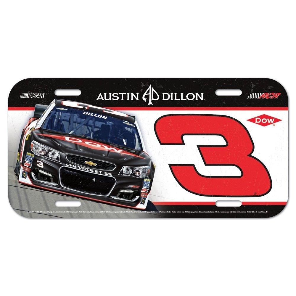 Amazon.com : NASCAR Dale Earnhardt Metal License Plate Frame ...