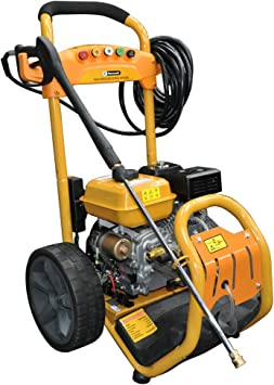 RocwooD Electric Start Petrol Pressure Power Jet Washer 3950 PSI 8HP 12M  Hose: Amazon.co.uk: DIY & Tools