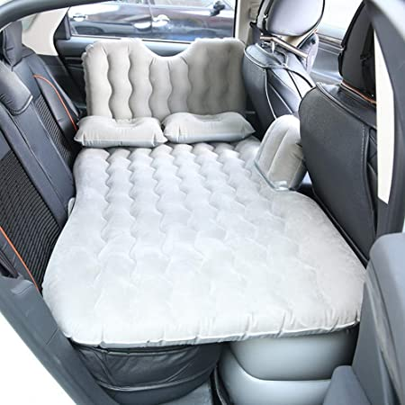 Wjie Colchón Inflable Coche SUV Multifuncional Plegable Cama ...