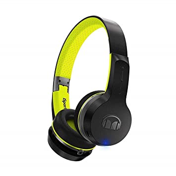 Monster Isport Freedom Bluetooth Wireless On Ear Amazoncouk