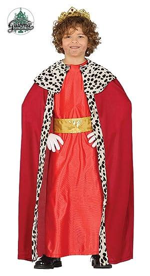 Guirca Disfraz de Rey Mago Rojo para Niño: Amazon.es: Juguetes y ...