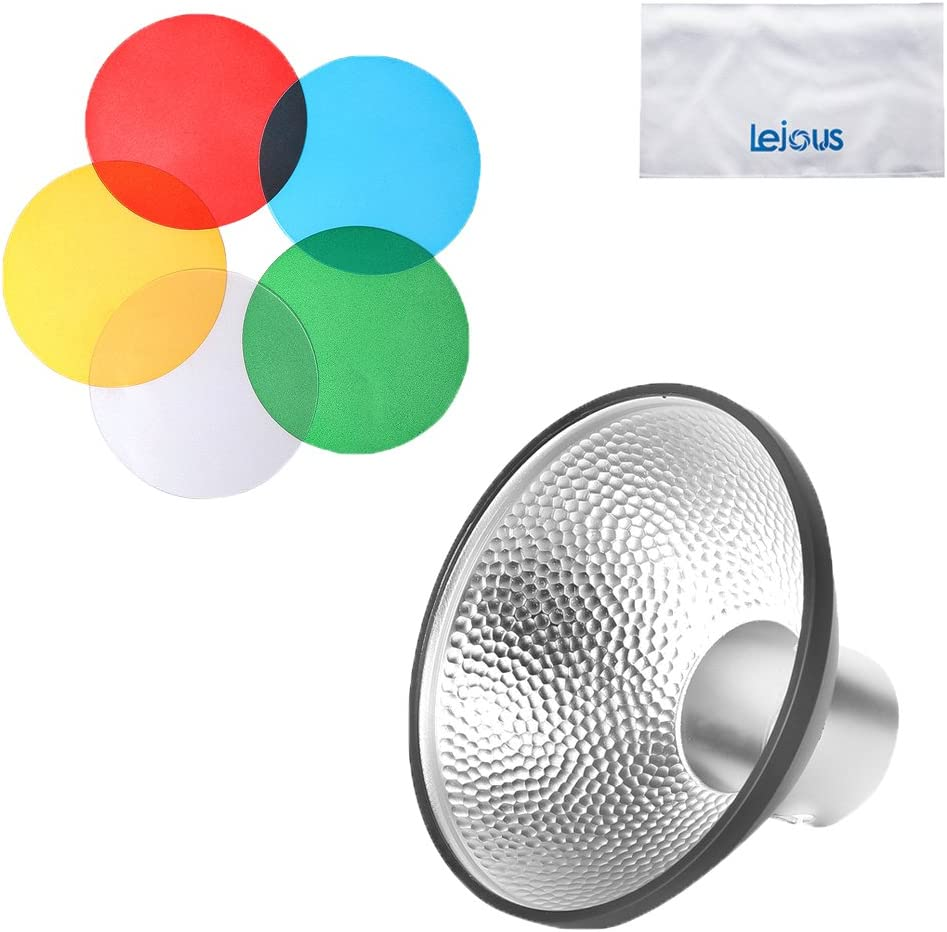 Godox AD-M Standard Reflector with 4 Colors Filter Soft Diffuser for Godox AD200 AD360II AD360 AD180 Flash Speedlite