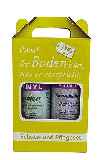 Hervorragend Reinigung & Pflege SET für Vinylboden / Vinylböden / PVC Belag HH61