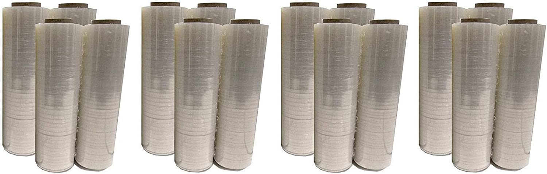BM Paper 8 Rolls Plastic Shrink Stretch Film Wrap 445mm x 450m 4RLS//CS